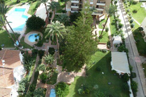 Zonas comunitarias y piscina de recinto comunitario. Ático en alquiler en Torremolinos